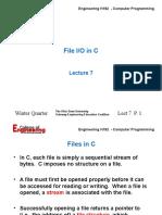 File IO in C