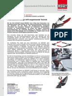 Erdi Ideal-Schere der neuesten Generation D39ASS von BESSEY