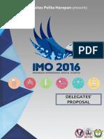 Proposal IMO 2016