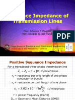 EE251 Note 2 - Sequence Impedance of Transmission Lines