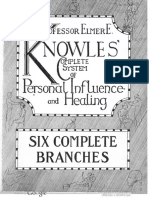 1891 Knowles Complete System of Personal Influence
