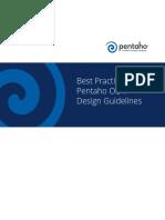 Pentaho OLAP Design Guidelines