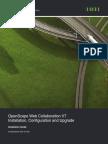 OpenScape Web Collaboration V7, Installation, Configuration and Upgrade, Installation Guide, Issue 1