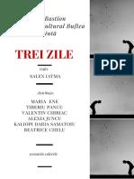 Afis Teatrul Bastion BUFTEA