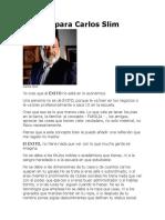 El Éxito para Carlos Slim