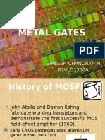 Metal Gates-ppt