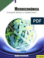 Teoría Microeconómica, 8va Edición - Nicholson Walter
