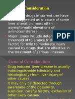 Drug Induced Liver Disease