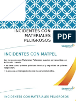 Incidentes Con Materiales Peligrosos