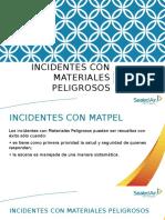 Incidentes Con Materiales Peligrosos