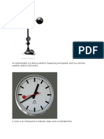 An Anemometer is a Device Used for Measuring Wind Speed