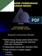 Set Standar Instrument