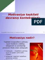 Təqdimat - Motivasiya