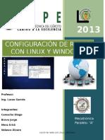 Redes ConexionRedes Windows y Lynux