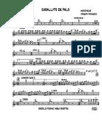 Caballito de Palo (Finale 2006) - 001-Trumpet-In-bb-1