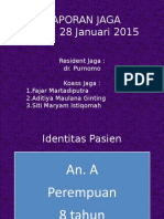 Laporan Jaga 28 Januari 2015