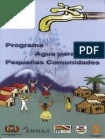Pequenas Comunidades Agua