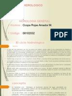 CICLO HIDROLOGICO AMADOR