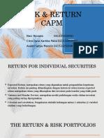 Chapter 11 Risk & Return CAPM