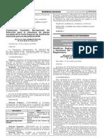 Modifican Reglamento de Organización y Funciones del Consejo Nacional de la Magistratura