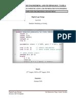 DataFlow Modeling in Verilog