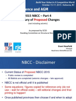 APEGBC 2015 Conference Updates to National Building Codes GN