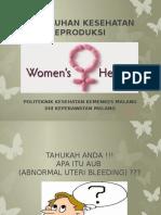 Penyuluhan Kesehatan Reproduksi Aub