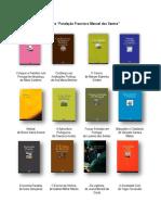 Novidades editoriais FFMS