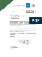 Berger envia a Fiscal José Morales oficios indagatorios para contribuir a investigación sobre Puente Cau Cau