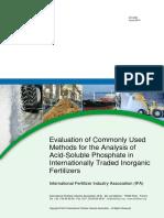 2014 Ifa Phosphate Method