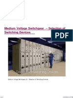Medium Voltage Switchgear – Selection of Switching Devices.pdf
