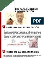 Elementos Para El Diseño de La Organización