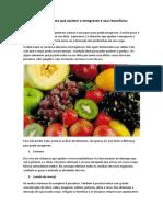 12 alimentos que ajudam a emagrecer e seus beneficios garantidos