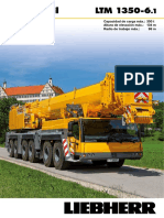 Liebherr Product Advantage Mobile Crane 180 Ltm 1350-6-1 Pn 180 00 s08 2011