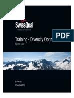 Diversity Optimizer - Swissqual