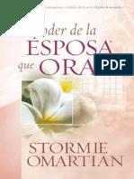 El Poder de La Esposa Que Ora Spanish E