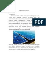 Energi Alternatif bumi