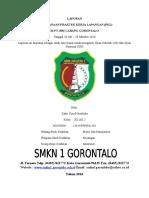 Cover - Lembar Pengesahan Laporan PKL