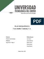 Proyecto. de Planificación