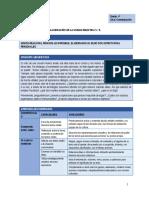 COM - Planificación Unidad 6 - 4to Grado