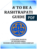 How to Be a Rashtrapati Guide- A Teaching Manual by Devishi Sarda