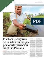 Reportaje en pueblos indígenas de la selva