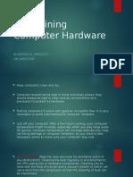 Budok - Maintaining Computer Hardware