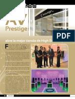 HomeTech Inauguracion AV Prestige Abril 2011