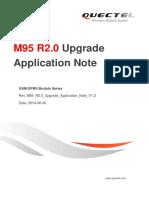 Quectel M95 R2.0 Upgrade Application Note V1.0