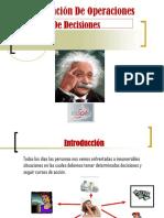 1.1 Análsis de Decisiones(1)