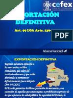4 EXPORTACION DEFINITIVA