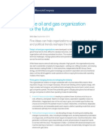 The Oil and Gas Organization of the Future