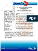 Ciertas Consideraciones de Manejo Para El Cultivo Exitoso de Camaron en Tierras Continentales (Boletin Nicovita - Chalor Limsuwan)