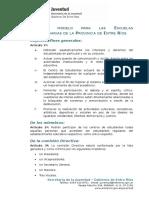 Modelo Estatuto Centro Estudiantes